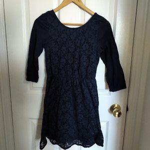 Navy Blue H&M Short Dress